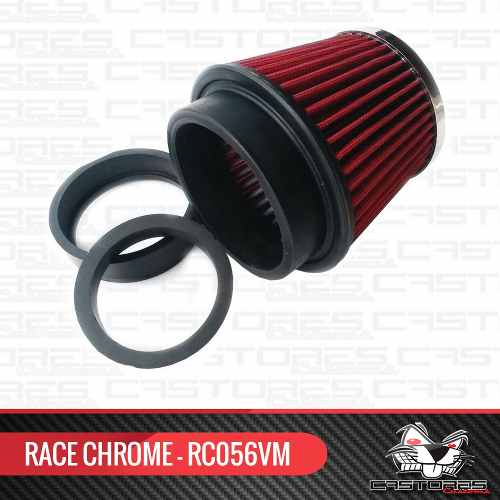 Filtro De Ar Esportivo Lavável Universal Multi Race Chrome