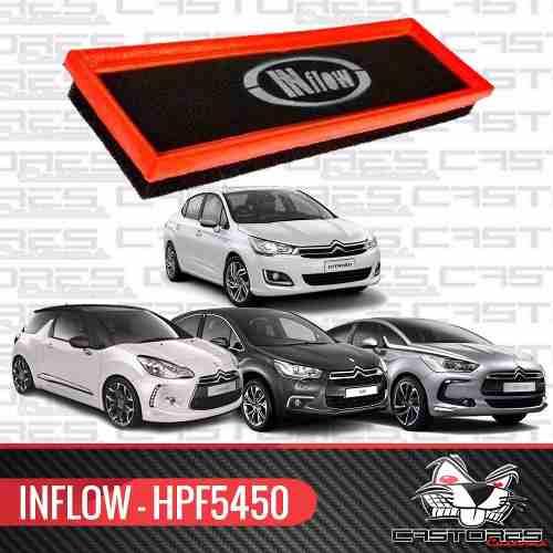 Filtro De Ar Esportivo Inflow Citroen Ds3 | Mini Cooper S | Peugeot 308 - Hpf5450