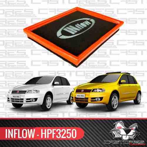 Filtro Ar Esportivo Inflow - Fiat Stilo 1.8 8v E 16v Hpf3250