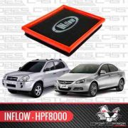 Filtro Ar Esportivo Inflow Hyundai Tucson Jac J5 Hpf8000