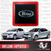 Filtro De Ar Esportivo Inflow Hyundai I30 Kia Cerato Hpf8150