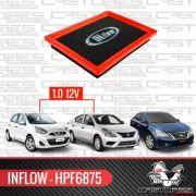Filtro Ar Inflow Versa March 1.0 12v Sentra 2.0 Hpf6875