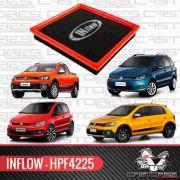 Filtro De Ar Esportivo Inflow Fox 1.6 MSI / Gol 1.6 MSI / Saveiro G6 1.6 16v MSI / Virtus 1.6 MSI / Polo 1.6 MSI - Hpf4225