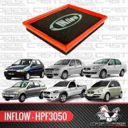 Filtro De Ar Esportivo Inflow Fiat Palio Siena Idea Hpf3050
