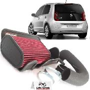 Kit Intake Completo Vw Up Tsi Race Chrome Filtro Esportivo