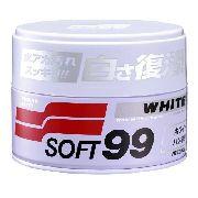 Cera De Carnaúba Premium White Cleaner Cores Claras - Soft99