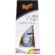 Cera White Wax Meguiars Paste 198g G6107 Carro Branco
