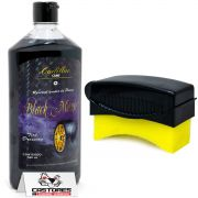 Kit Pretinho Black Magic Cadillac + Aplicador Detailer