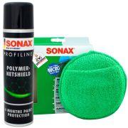 Kit Selante Polymer + Aplicador De Microfibra Redondo Sonax