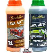 Kit Shampoo Cadilac Monster 2Lts Lava Auto Orange 2Lts