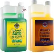 Kit Shampoo Easytech Lava Auto Melon Tangerine Desengraxante