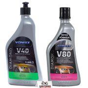 V40 Polidor 4 Em 1 + V80 Selante Vonixx 500ml