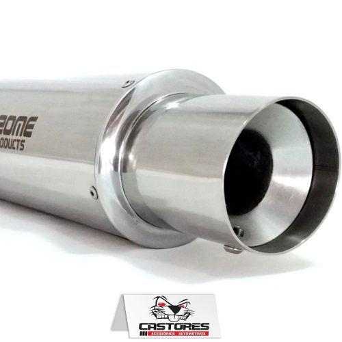 Abafador Esportivo 4 Inox Polido Race Chrome Rc520cr