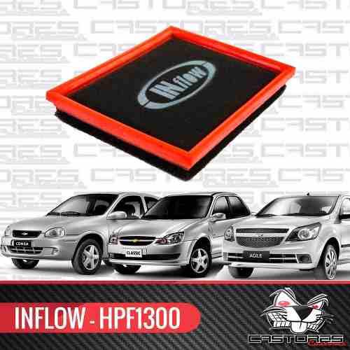 Filtro Ar Esportivo Inflow Corsa Classic 1.0 Agile - Hpf1300