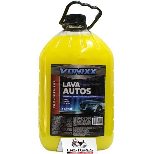 Lava Autos Vonixx 5 Litros Ph Neutro Rende Até 200 Litros