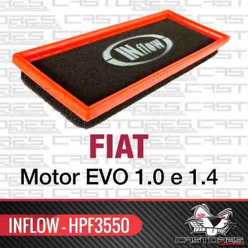 Filtro De Ar Esportivo Inflow Novo Uno 500 Hpf3550