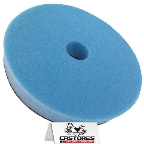 Boina Refino / Lustro Lincoln Espuma Azul 6 Polegadas
