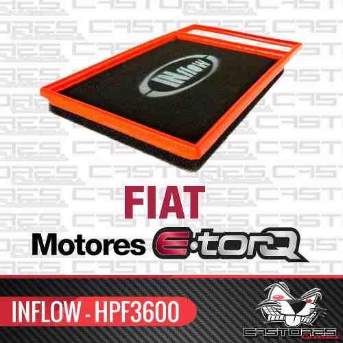 Filtro Ar Esportivo Inflow Fiat E-torq Bravo Punto Hpf3600