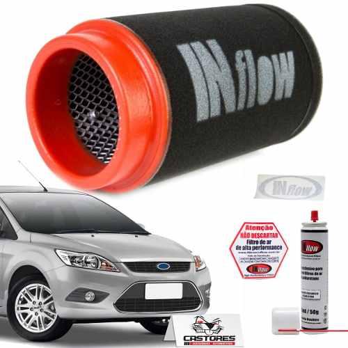 Filtro De Ar Esportivo Inflow Ford Focus Até 2013 Hpf2900