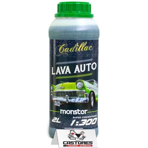 Lava Auto Cadillac Monster Shampoo Neutro 1:300 2 Litros