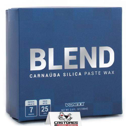 Cera Blend Carnaúba Sílica Vonixx Paste Wax 100ml
