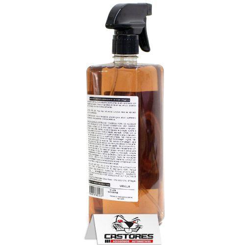 Aromatizante Spray Baunilha 1 Litro Cadillac Aromaticar