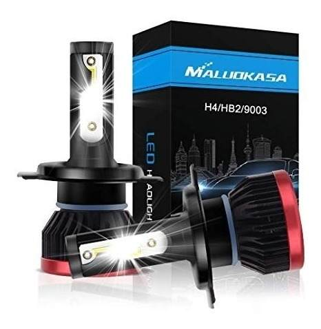 Super Led 6500k Ultra Mini 20000lm - H4 Farol Alto E Baixo