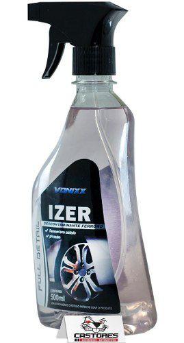 Izer Descontaminante Ferroso Vonixx 500ml - Rodas E Pintura