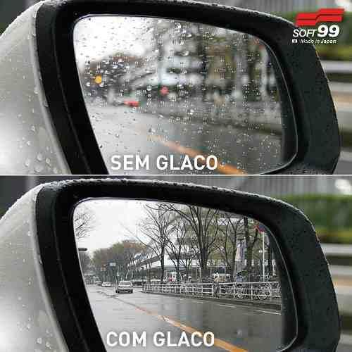 Repelente De Água Glaco Zero Retrovisor E Camera Ré Soft99