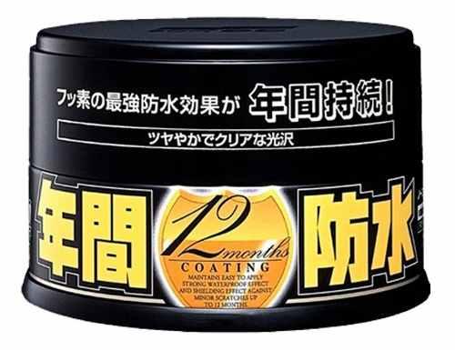 Cera Sintética Fusso Coat Black Soft99 Cores Escuras