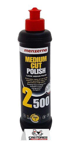 Menzerna 2500 Medium Cut Polish 250ml