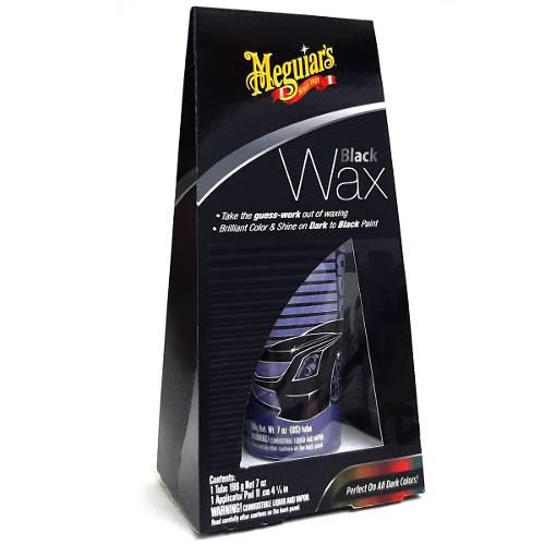Cera Black Wax Meguiars Paste G6207 Carro Preto 198g
