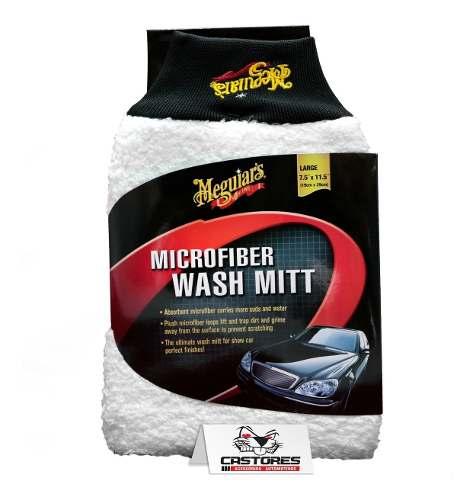 Luva De Lavagem Automotiva Microfibra Meguiars Wash Mitt