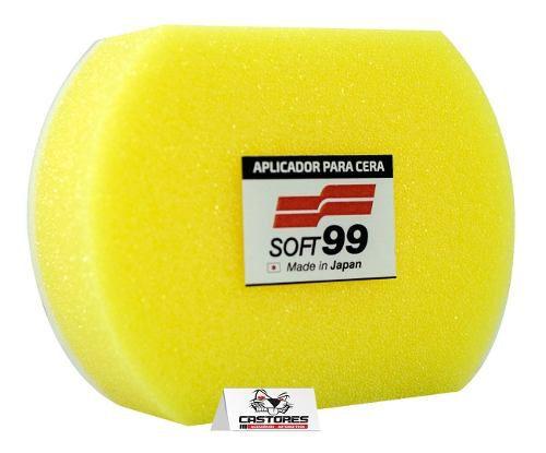 Aplicado De Esponja Para Enceramento Authentic Sponge Soft99