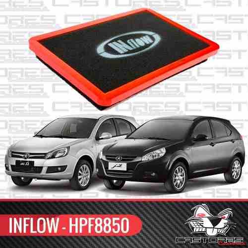 Filtro De Ar Esportivo Inflow - Jac J3 1.4 1.5 - Hpf8850