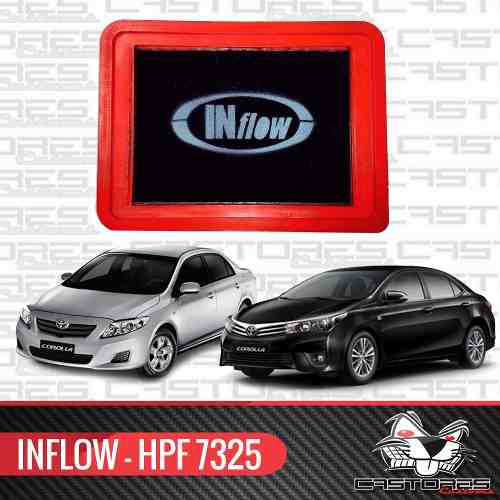Filtro Esportivo Inflow - Toyota Corolla 1.8 2.0 16v Hpf7325