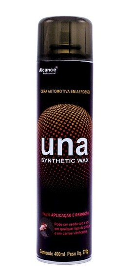 Alcance Una Synthetic Wax Aerossol 400ml