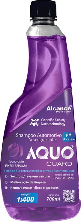 AQUO GUARD SHAMPOO DESENGRAXANTE 700ML  ALCANCE PROFISSIONAL