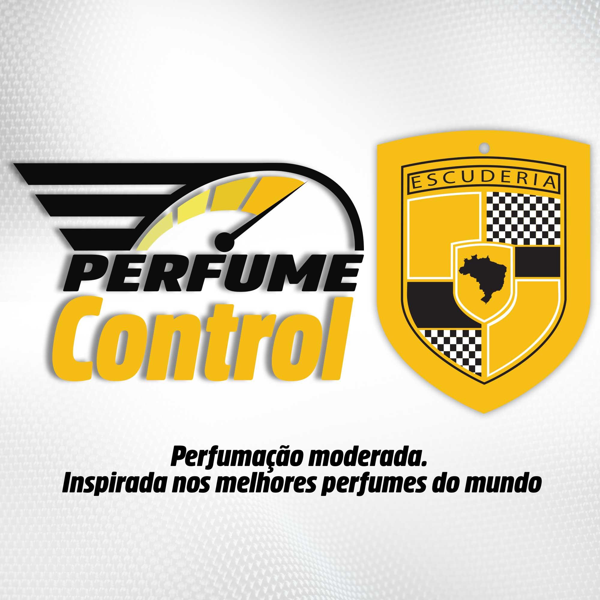 Aromatizante Automotivo Escuderia Brasil - Perfume Alfa