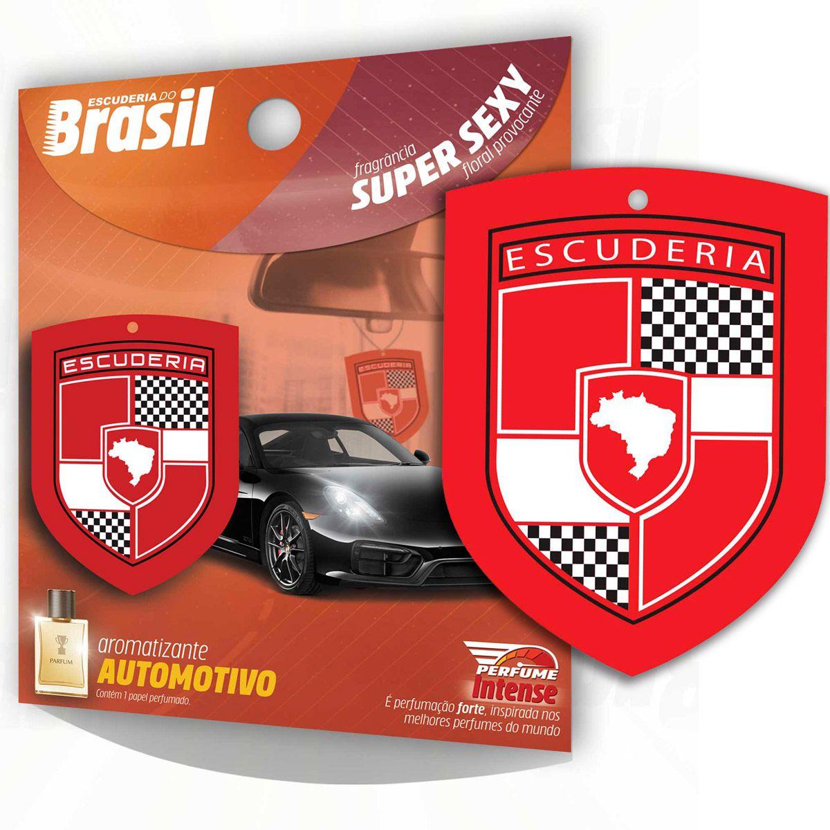 Aromatizante Automotivo Escuderia Brasil - Super Sexy