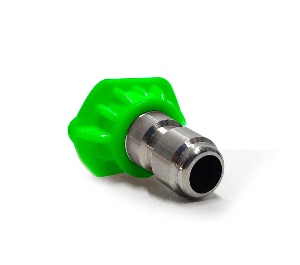 Bico Engate Rápido Verde - Jato de Água Com Leque em 25 graus Detailer