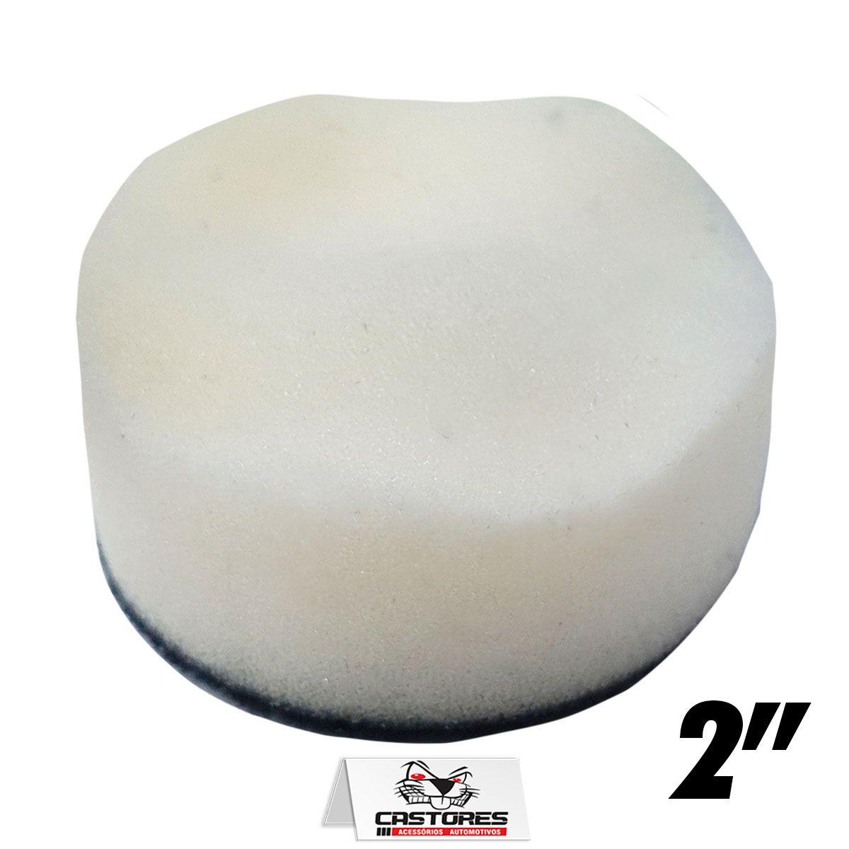 """Boina de Espuma Branca para Refino de 2"""" –  52mm"""