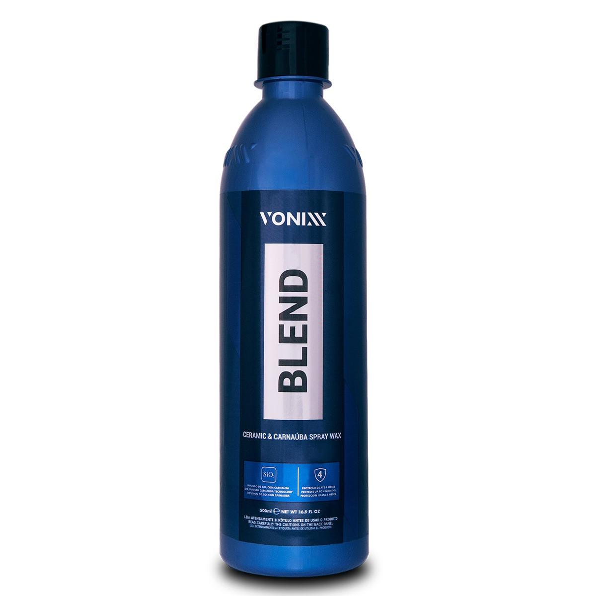Cera Blend Carnaúba Sílica Vonixx Spray Wax 500ml