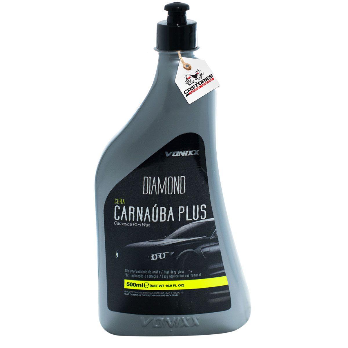 Cera De Carnauba Plus Vonixx 500ml Líquida