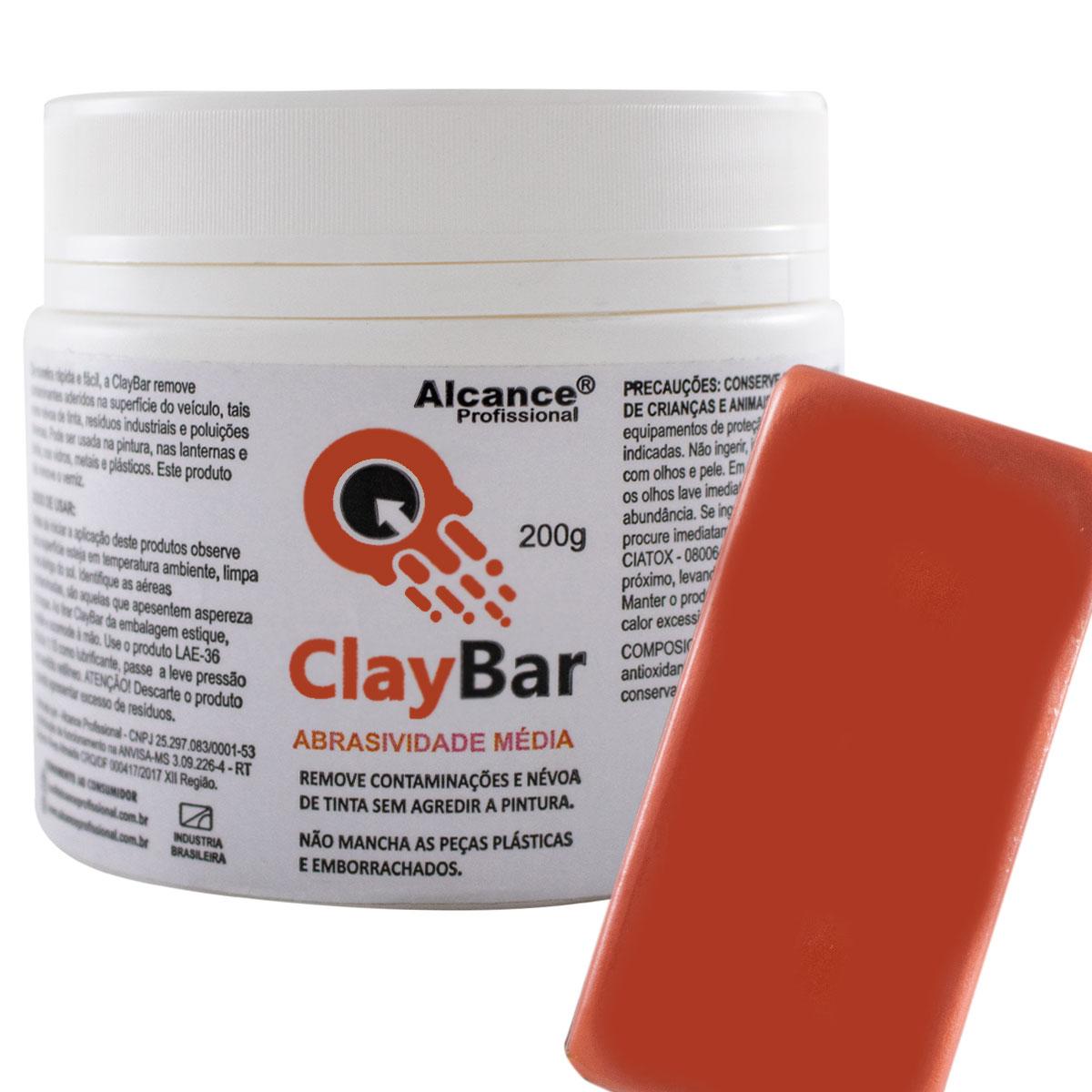 CLAY BAR 200G - ALCANCE PROFISSIONAL