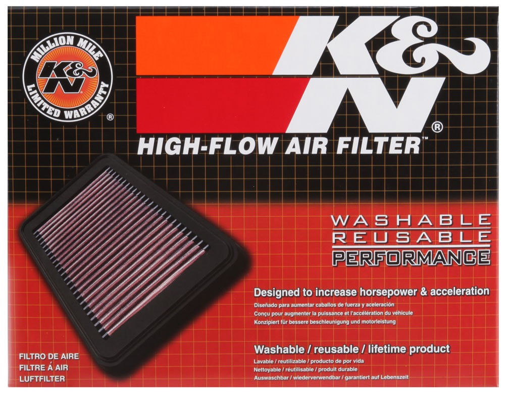 FILTRO K&N INBOX 33-5034 - JEEP RENEGADE | JEEP COMPASS | FIAT TORO