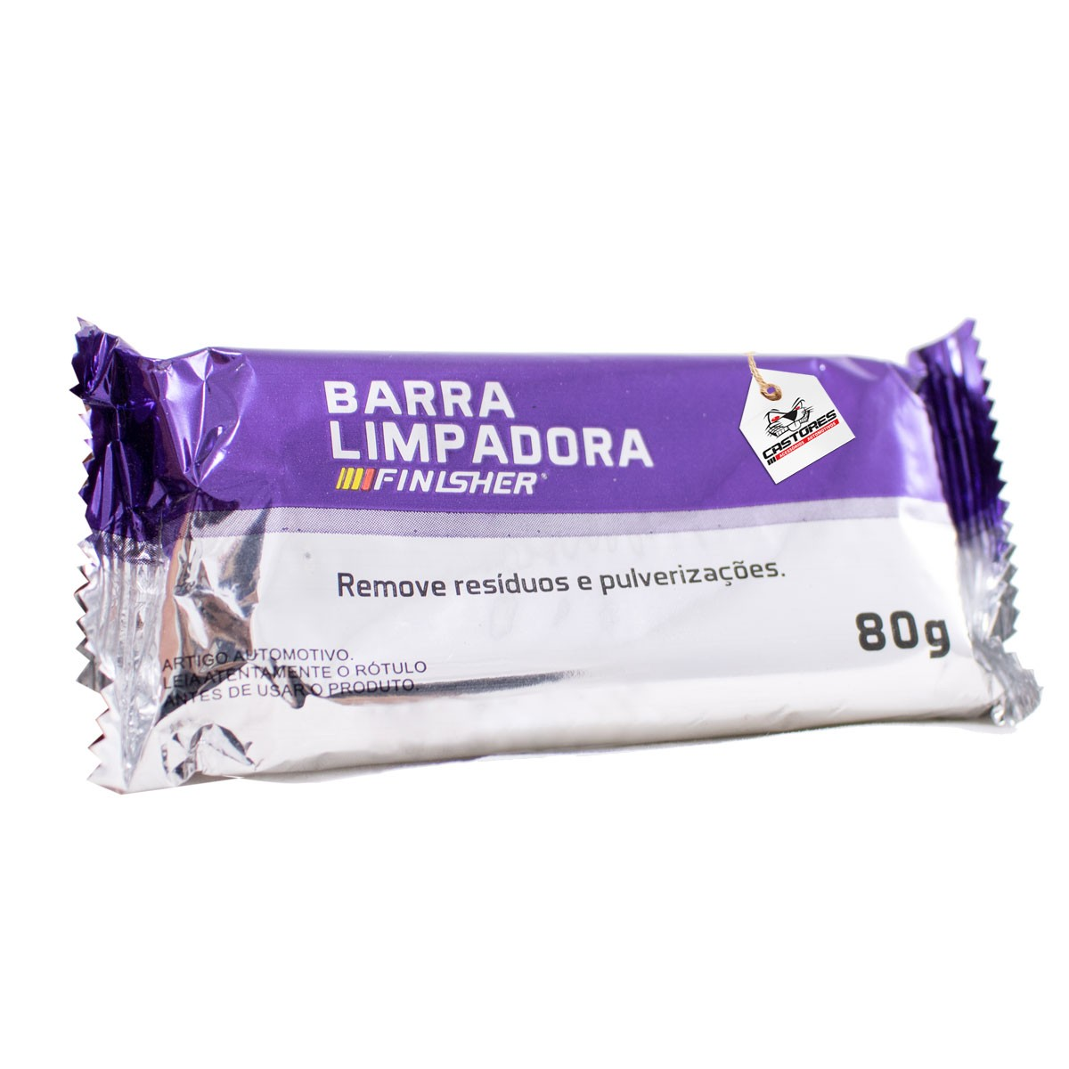 Clay Bar Barra Descontaminante Finisher - 80G