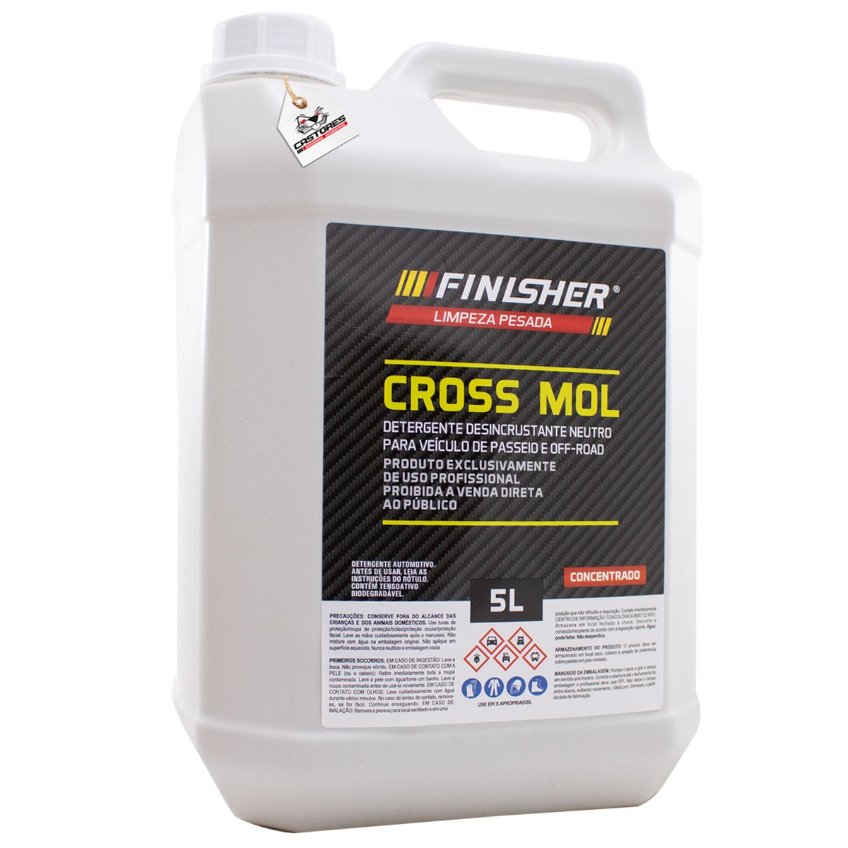 Finisher Cross Mol Desincrustante Neutro - Concentrado 5L