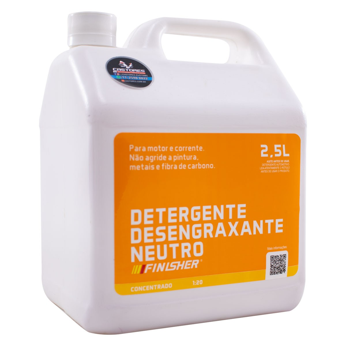 Finisher Detergente Desengraxante Neutro 2,5L