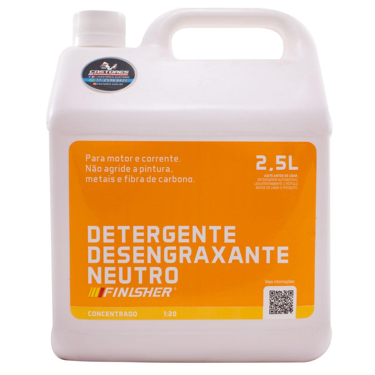 Finisher Detergente Desengraxante Neutro 2,5L